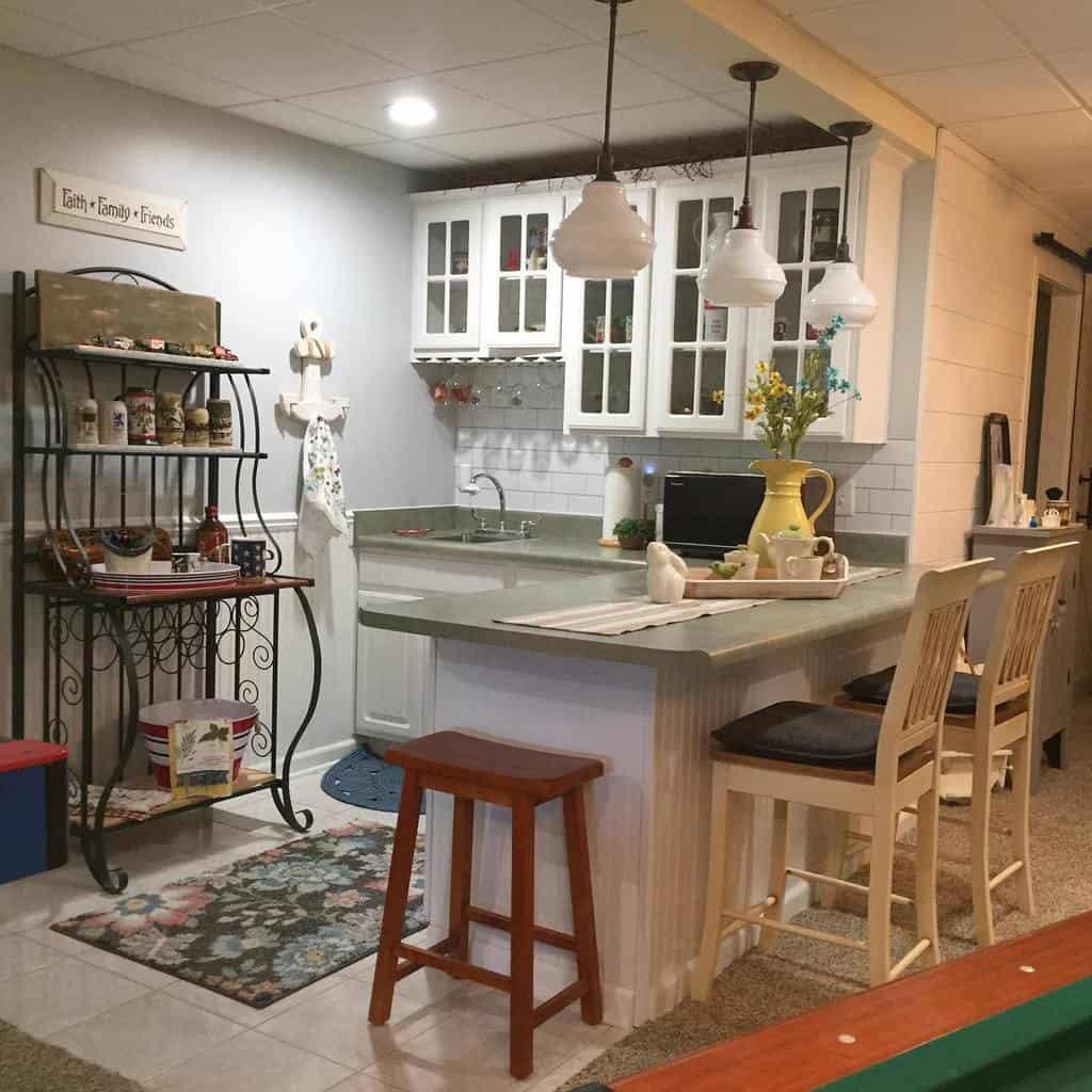 kitchen small basement ideas thorncreekfarmhouse