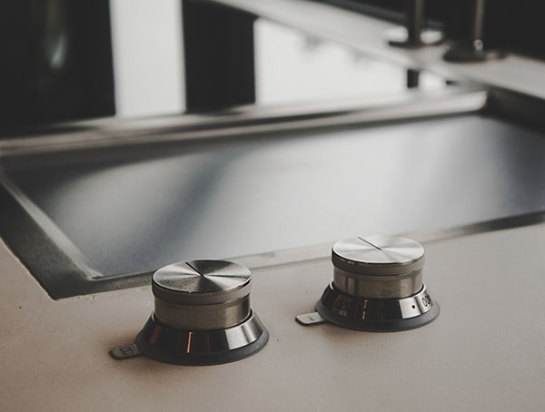 Kitchen Stove Modern Details 2019 New American Remodel