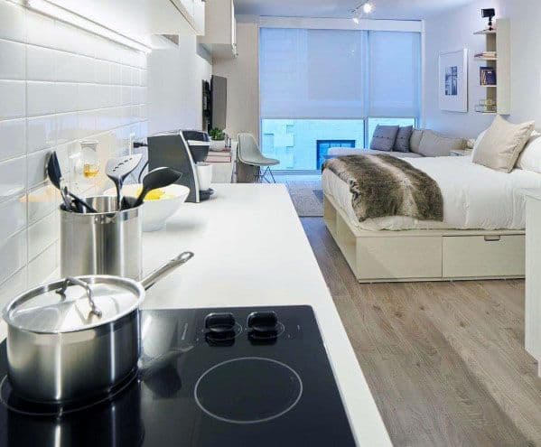 Top 60 Best Studio Apartment Ideas Small Space Designs,Chinese Dessert Soup Recipes