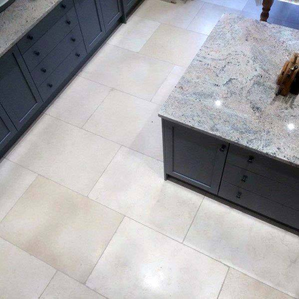 Kitchen Tile Floor Interior Ideas