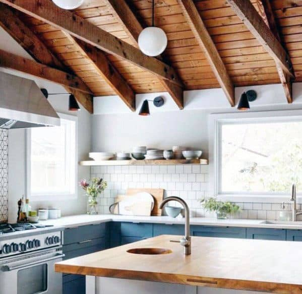 Top 50 Best Rustic Ceiling Ideas Vintage Interior Designs