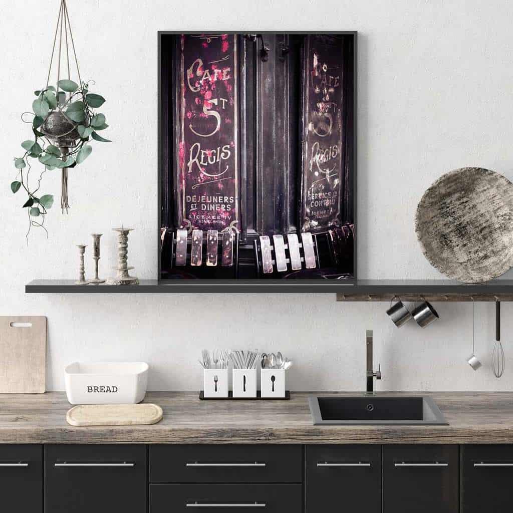 kitchen wall shelf ideas frenchglimpses