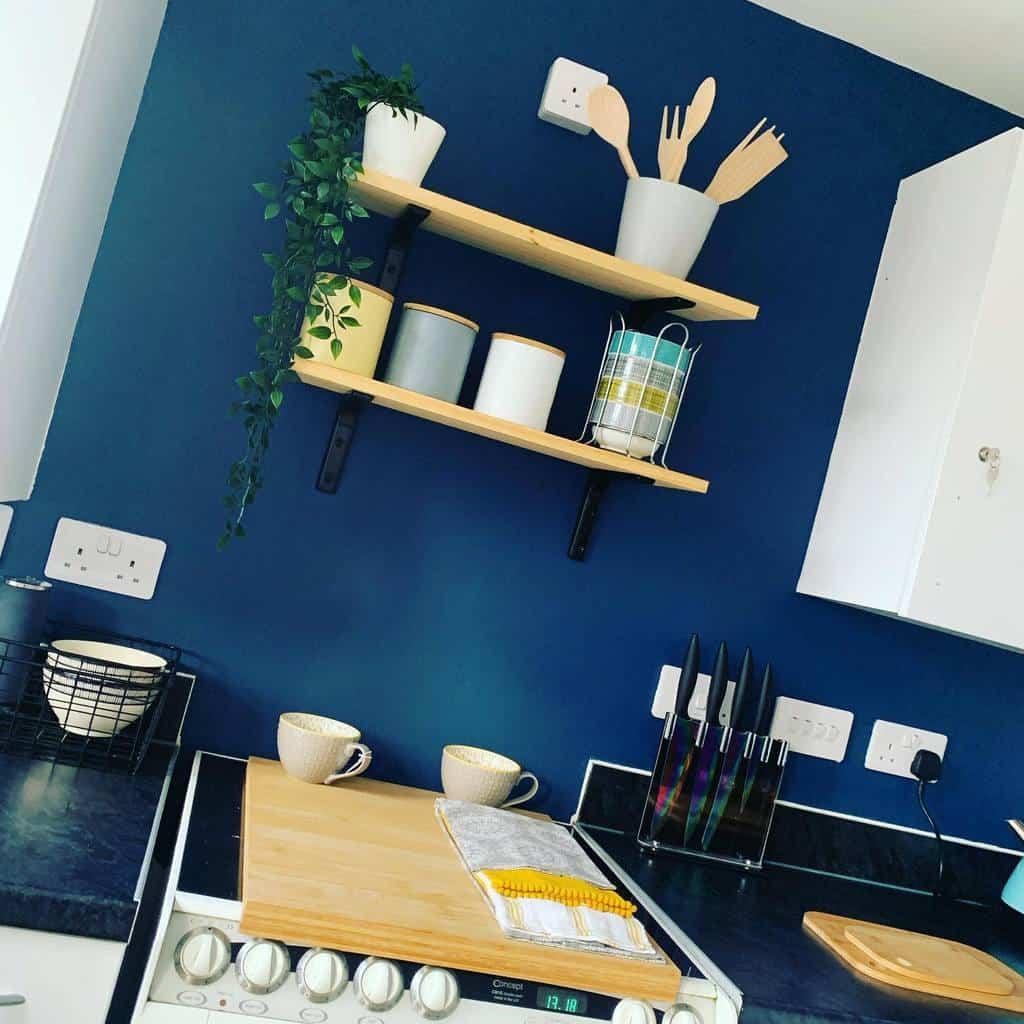kitchen wall shelf ideas homewithzo_
