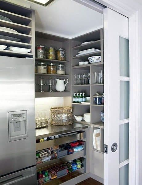 Kitchen With Pantry Design