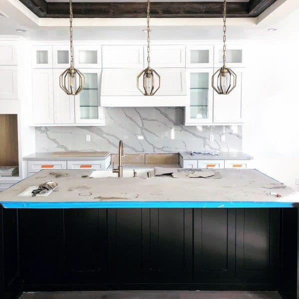 Kitchen Wood Beam Trey Ceiling Ideas