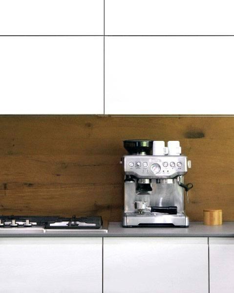 Kitchen Wooden Backsplash Design Inspiration Ideas