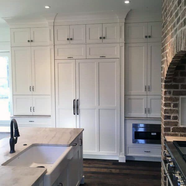 Kitchens Impressive Crown Molding Ideas