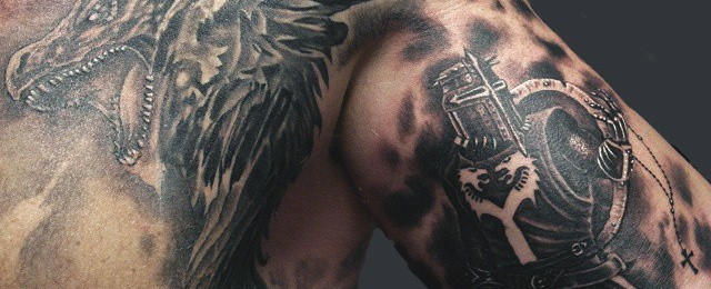Top 83 Best Knight Tattoo Ideas – [2021 Inspiration Guide]