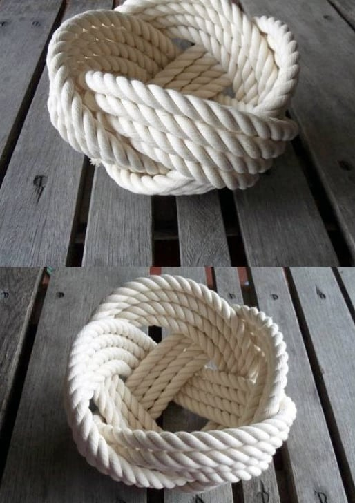 Knot Roped Man Cave Decor
