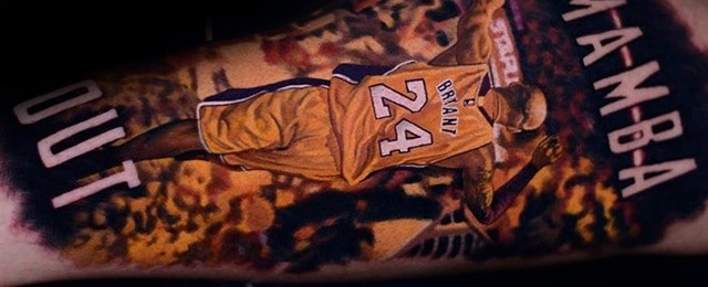 Kobe Bryant Tattoo Designs For Men