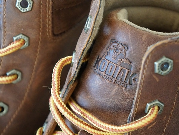 Kodiak Magog Tounge Embossed Brand Detail Mens Boots