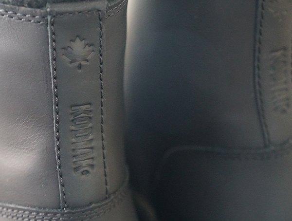 Kodiak Rhode Ii Arctic Grip Mens Boots Heel Detail