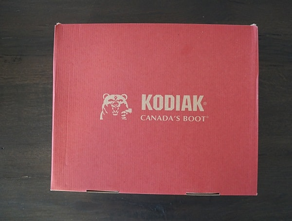 Kodiak Rhode Ii Arctic Grip Winter Mens Boots Shoe Box