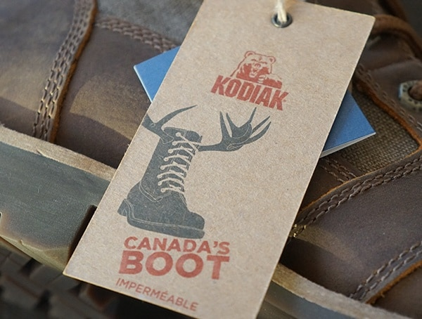 Kodiak Thane Waterproof Mens Boots Tag