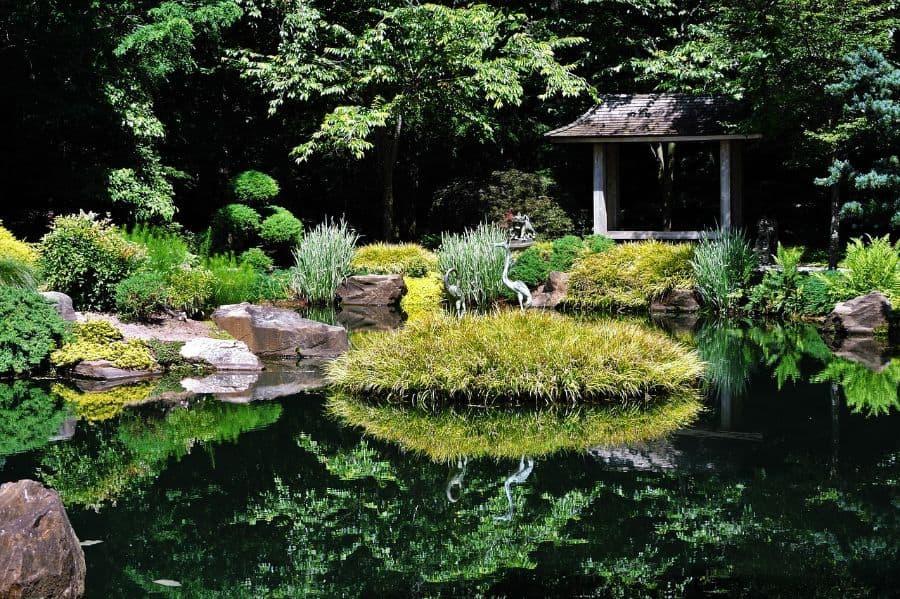 koi pond zen garden ideas 1
