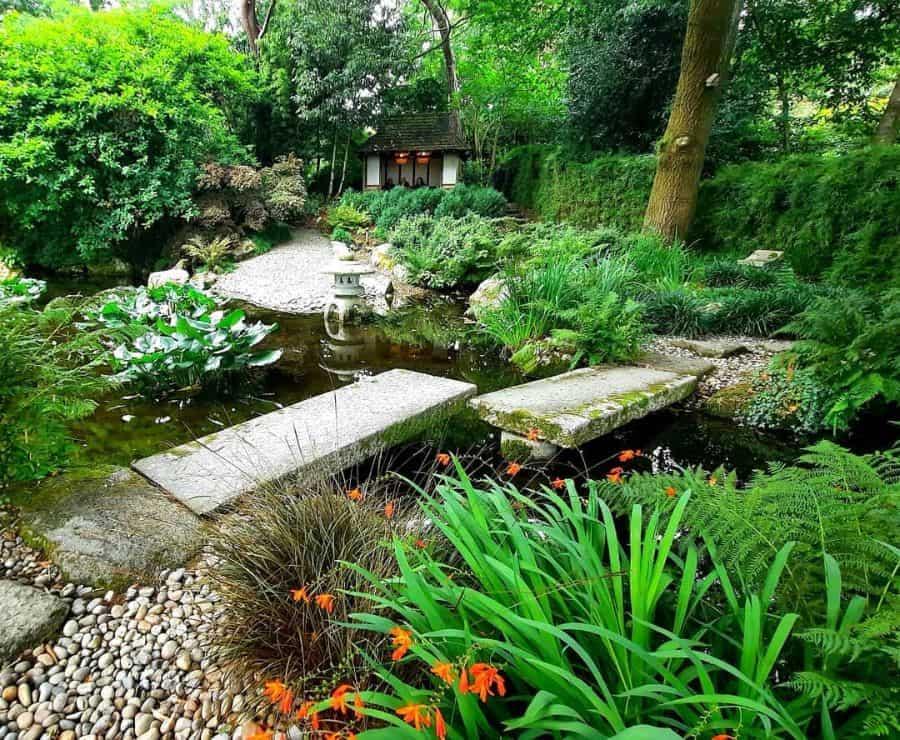 koi pond zen garden ideas tania74wright