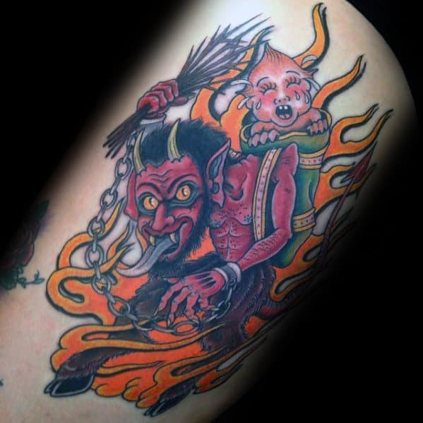 Krampus Guys Tattoo Designs