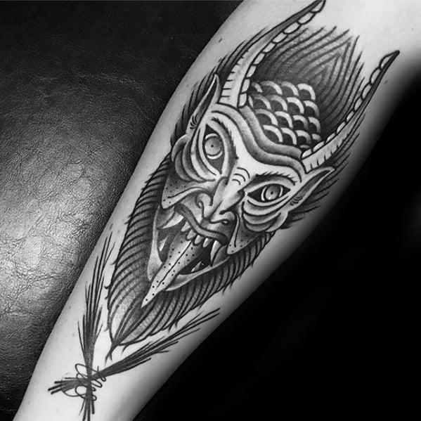 Krampus Tattoos For Gentlemen