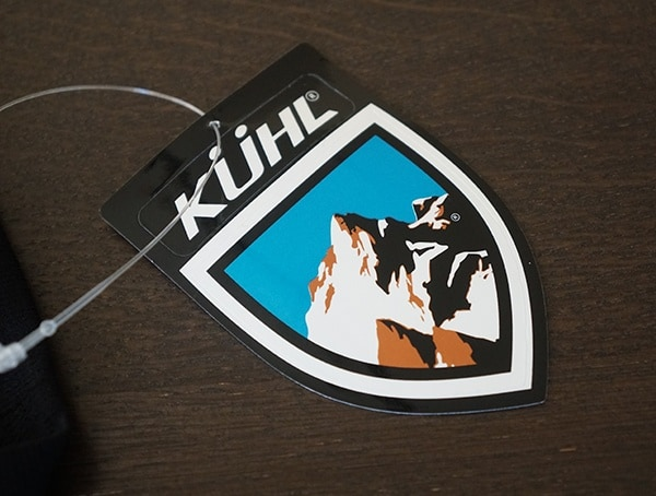 Kuhl Included Sticker Tag On Base Layer