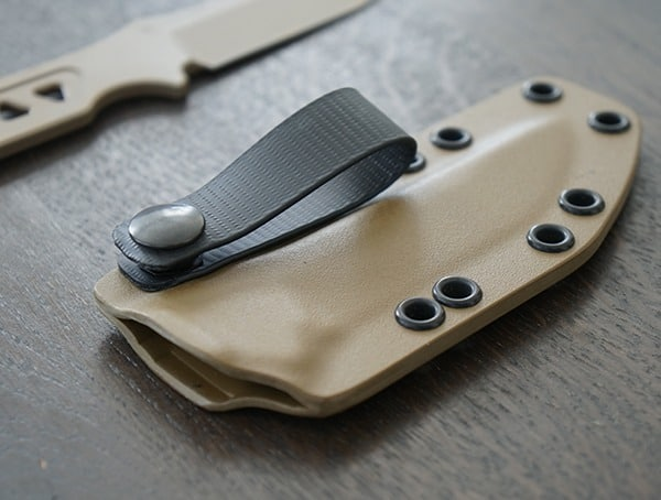 Kydex Custom Fit Sheath With Snap Closure Loop Spartan Blades Formido