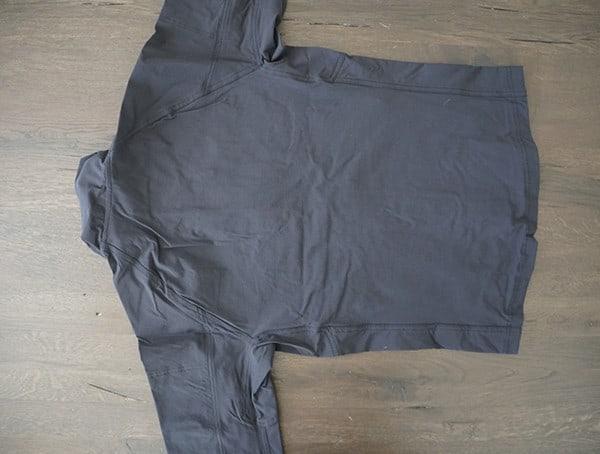 Kyros System Beyond Clothing Lightweight Velox Softshell Jacket Back