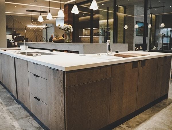 L Shaped Kitchen Island 2019 New American Remodel
