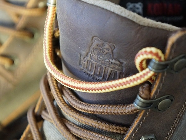 Lace And Embossed Brand Tounge Detail Kodiak Thane Mens Boots