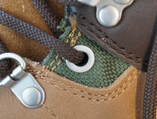 Lace Eyelets Mens Foresake Trail Boots