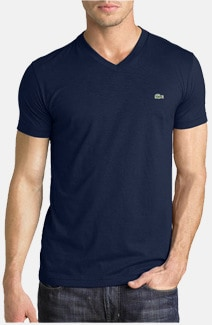 Lacoste V-Neck Shirt For Men