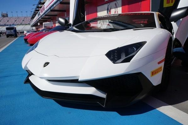 Lamborghini Aventador Sv Front