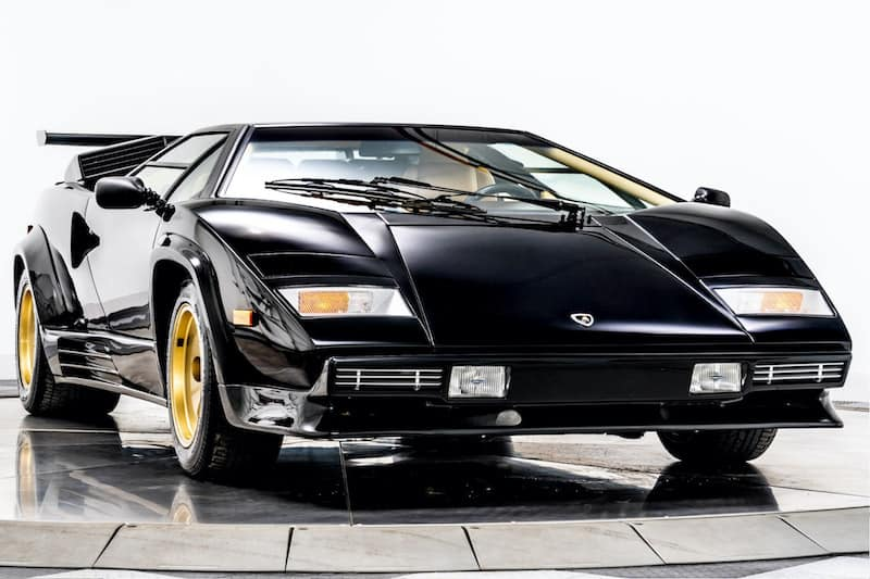 Iconic 1988 Lamborghini Countach on the Market