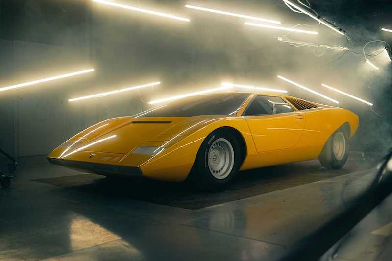 Lamborghini's Original Countach LP 500 Prototype Brought Back to Life