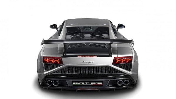 Lamborghini Gallardo LP 570-4 Squadra Corse Rear