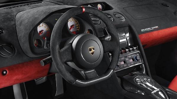 Lamborghini Gallardo LP 570-4 Squadra Corse Steering Wheel