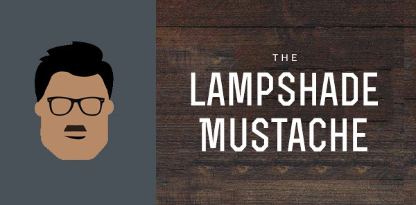 Lampshade Mustache Styles