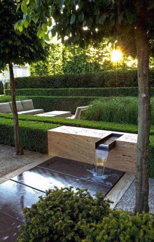 Landscape Design For Modern House