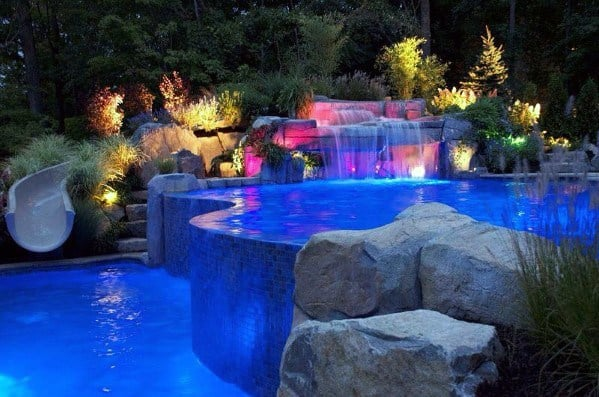 Landscape Designs Pool Lighting