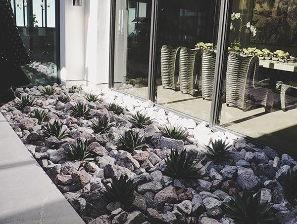 Landscape Details Walkway Home Entrance New American Home 2019