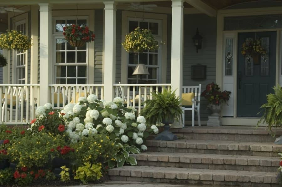 Landscape Garden Leading To Porch Ideas 3