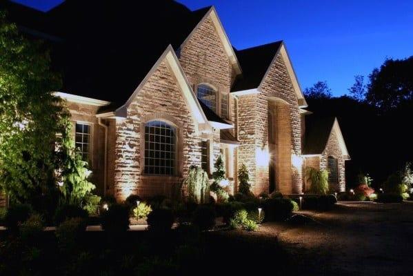 Landscape Lighting Cool Exterior Ideas