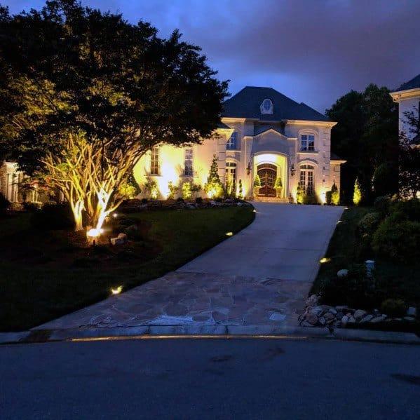 Landscape Lighting Idea Inspiration Front Of House