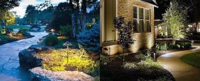 Top 70 Best Landscape Lighting Ideas – Front And Backyard Illumination