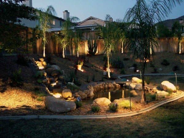 Landscape Lighting Ideas Backyard