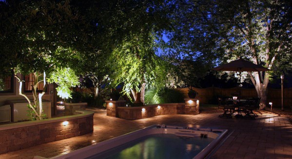 Landscape Lighting Ideas Inspiration Pool