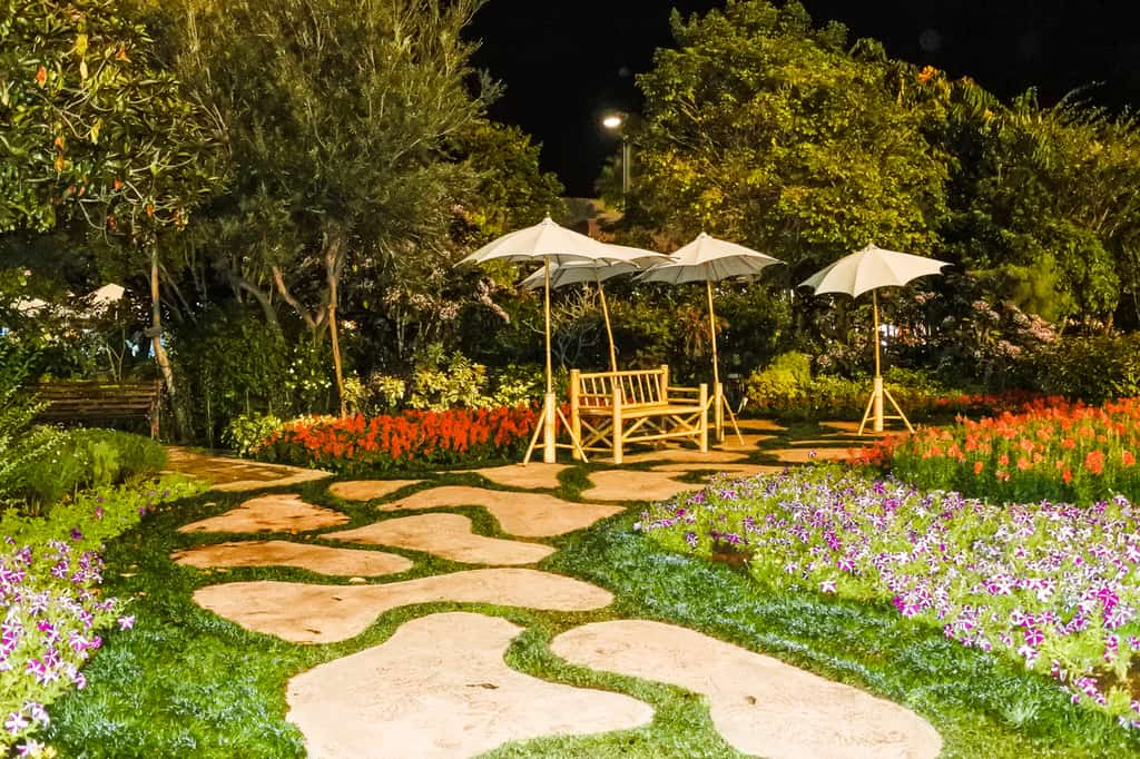 landscaped flower garden ideas 1