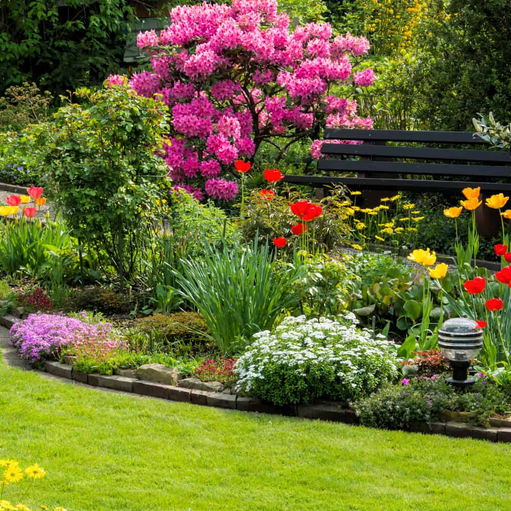 landscaped flower garden ideas 6