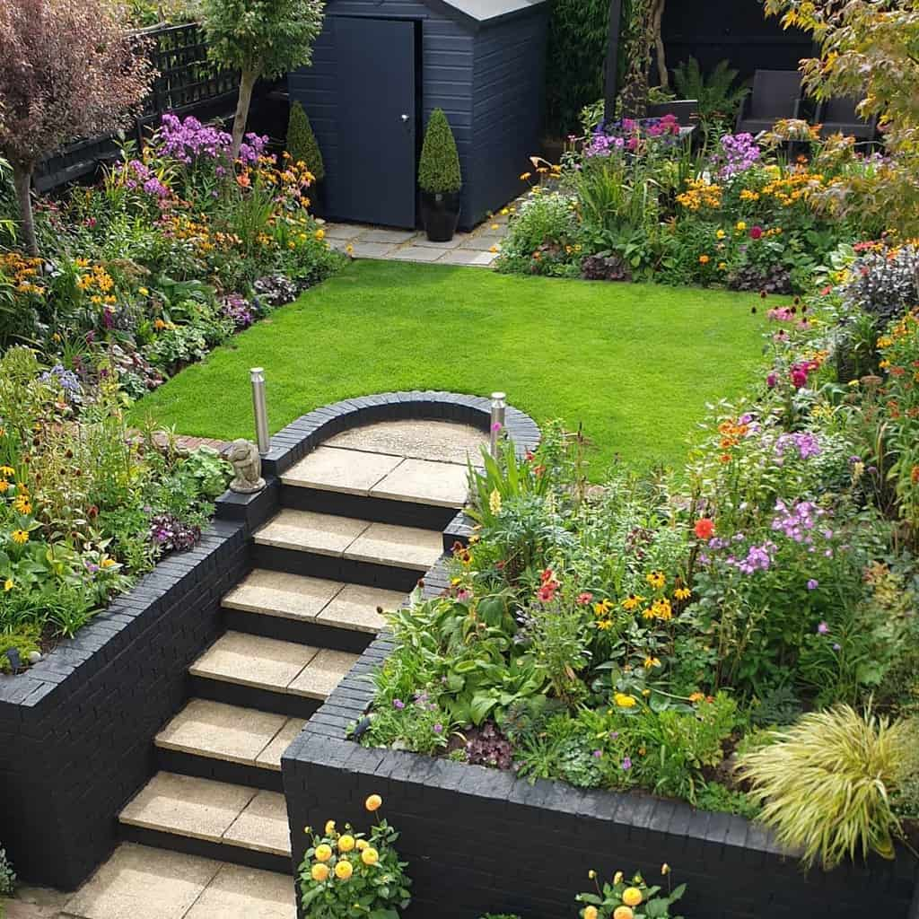 landscaped flower garden ideas davidlovestogarden