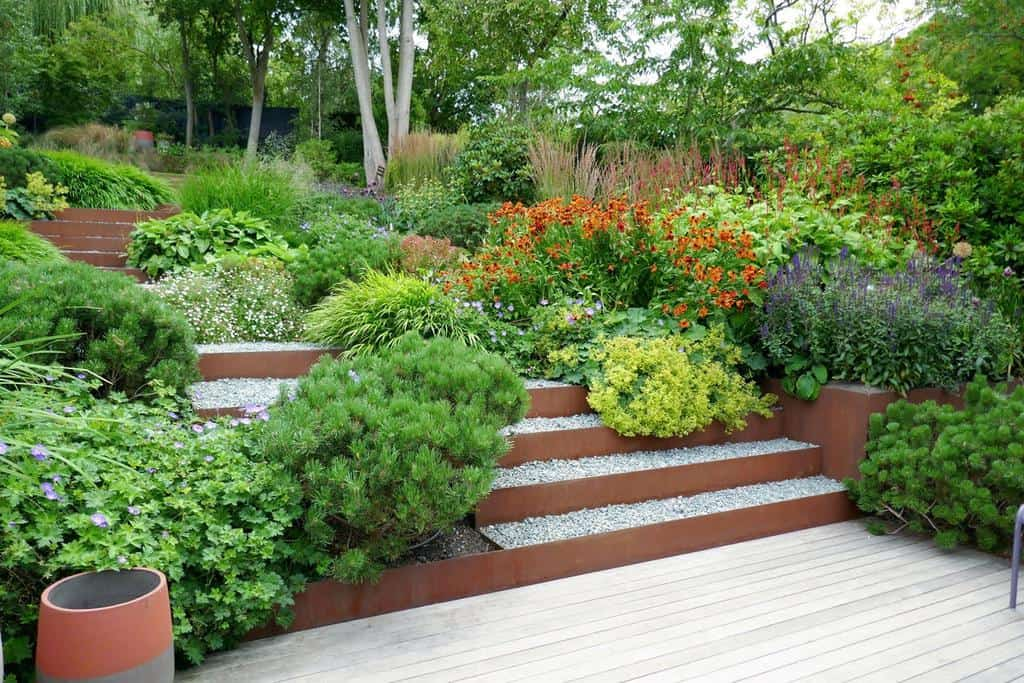 landscaped flower garden ideas londongardendesign