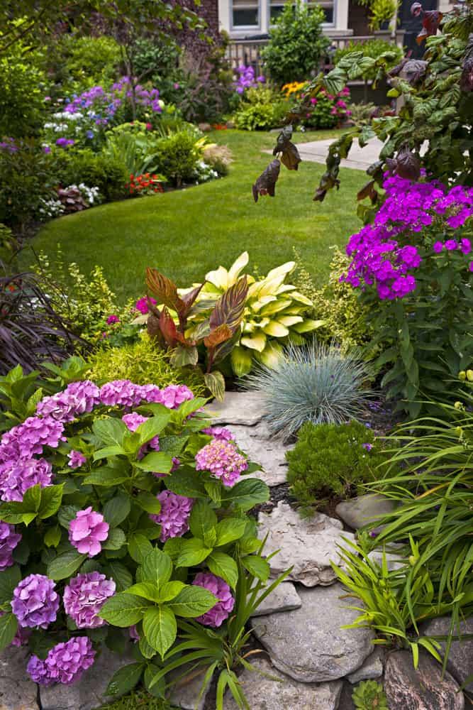 landscaped shade garden ideas 2
