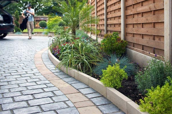 Landscaping Ideas Driveway Edging